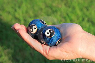 Le sfere della salute (chinese balls)