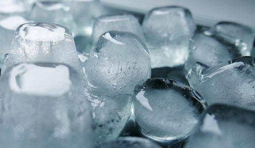 ghiaccio sul collo