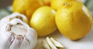 colesterolo aglio e limone